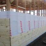Чем прикрыть «наготу» каркасного дома?