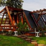 Каркасный экологичный дом