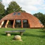 Экологичный деревянный дизайнерский дом