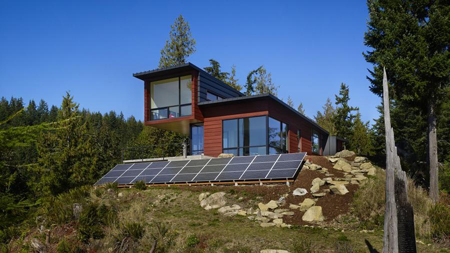 экологичные деревянные дома